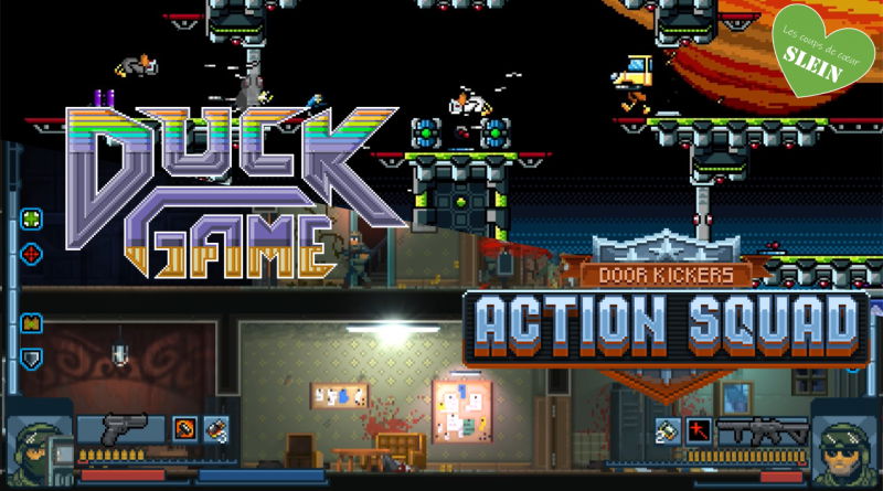 [PC] Coup de cœur en Multi : Duck Game & Action Squad
