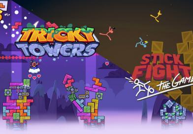 [PC] Coup de cœur en Multi : Stick Fight & Tricky Towers