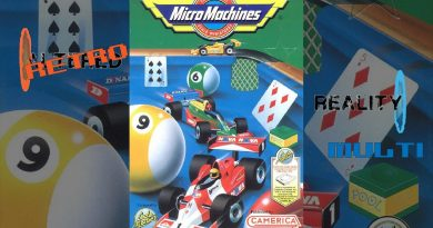 [Retro-Reality Multi] Micro Machines sur Mega Drive, vroom sur la table du jardin !